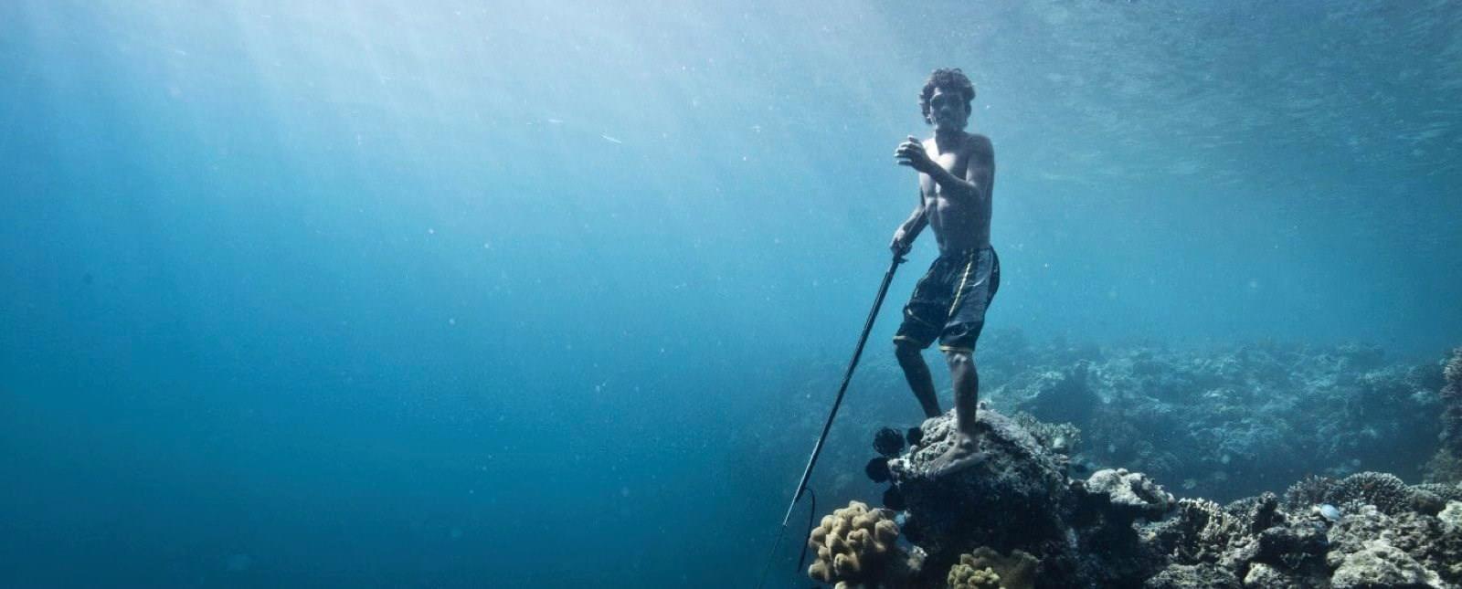 Los bajau, la tribu que mutó y puede sumergirse 60 metros bajo el mar.