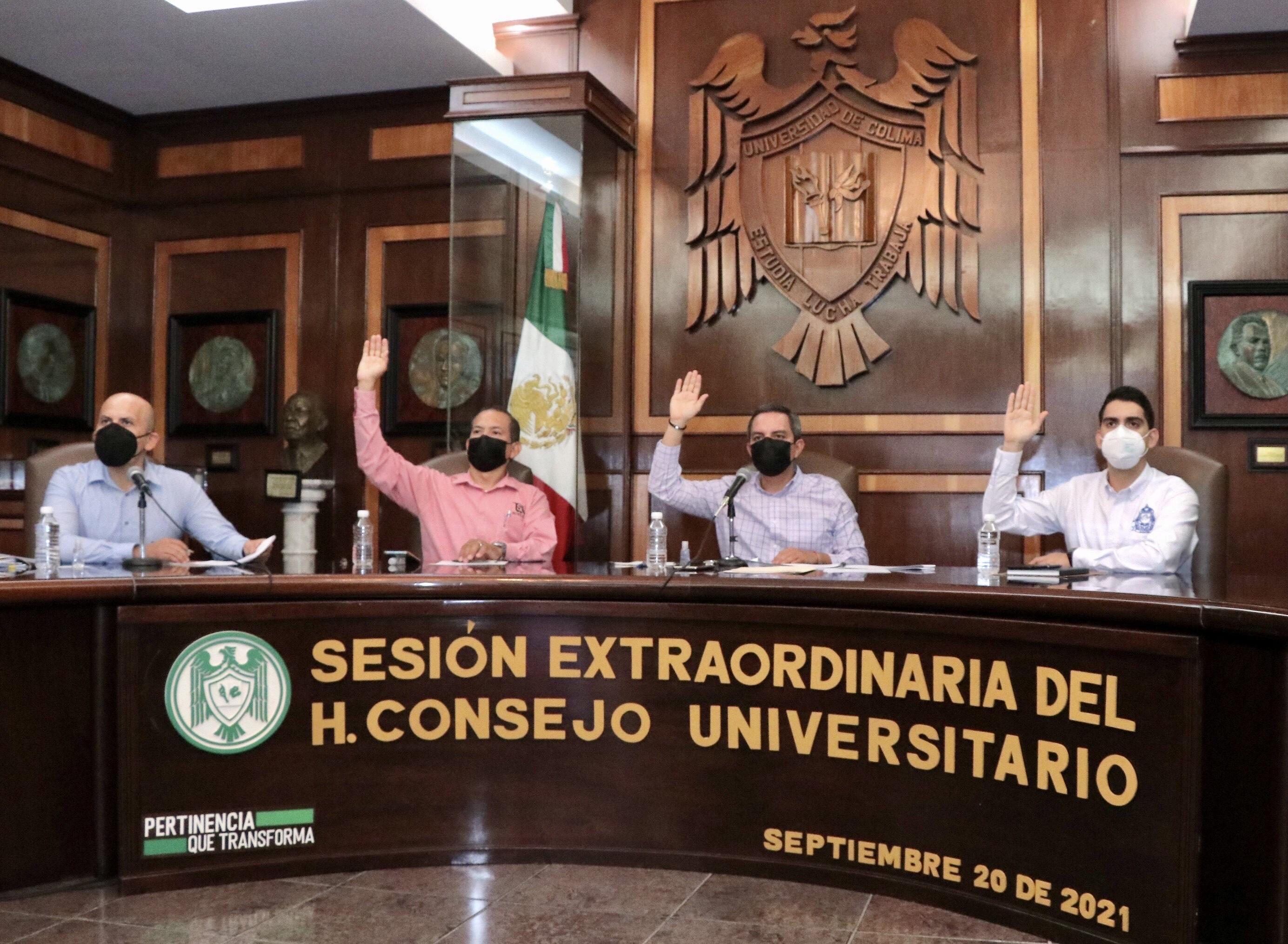 Aprueba Consejo Universitario los programas Lazos e Ideas