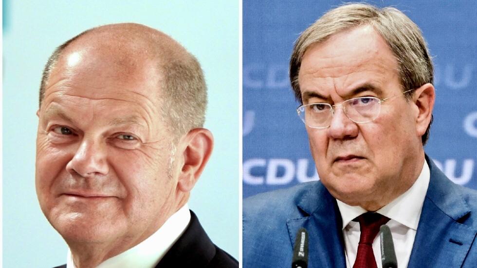 El SPD alemán arropa a Scholz; Laschet recibe el espaldarazo final de Merkel.