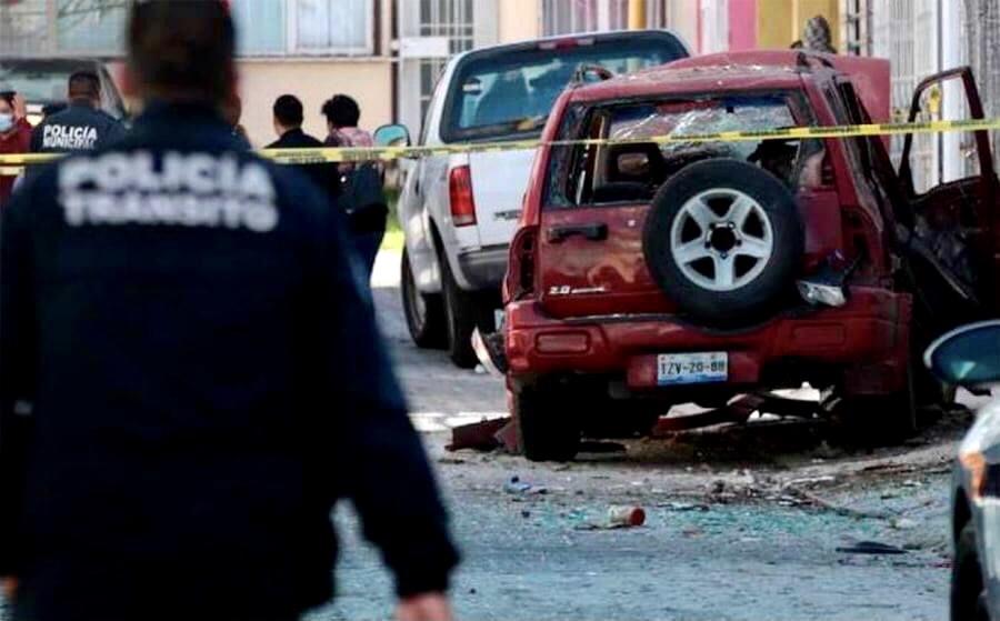Detonan otro artefacto explosivo, ahora en Puebla.