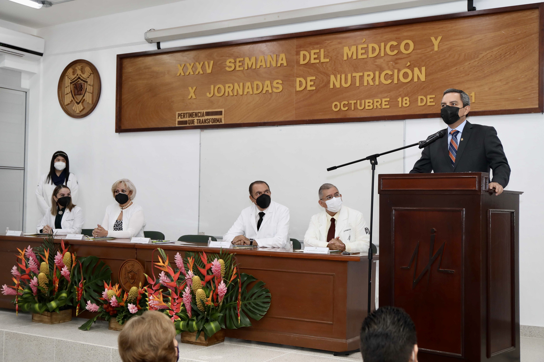Inicia la XXXV Semana del  Médico y las X Jornadas de Nutrición en la UdeC.