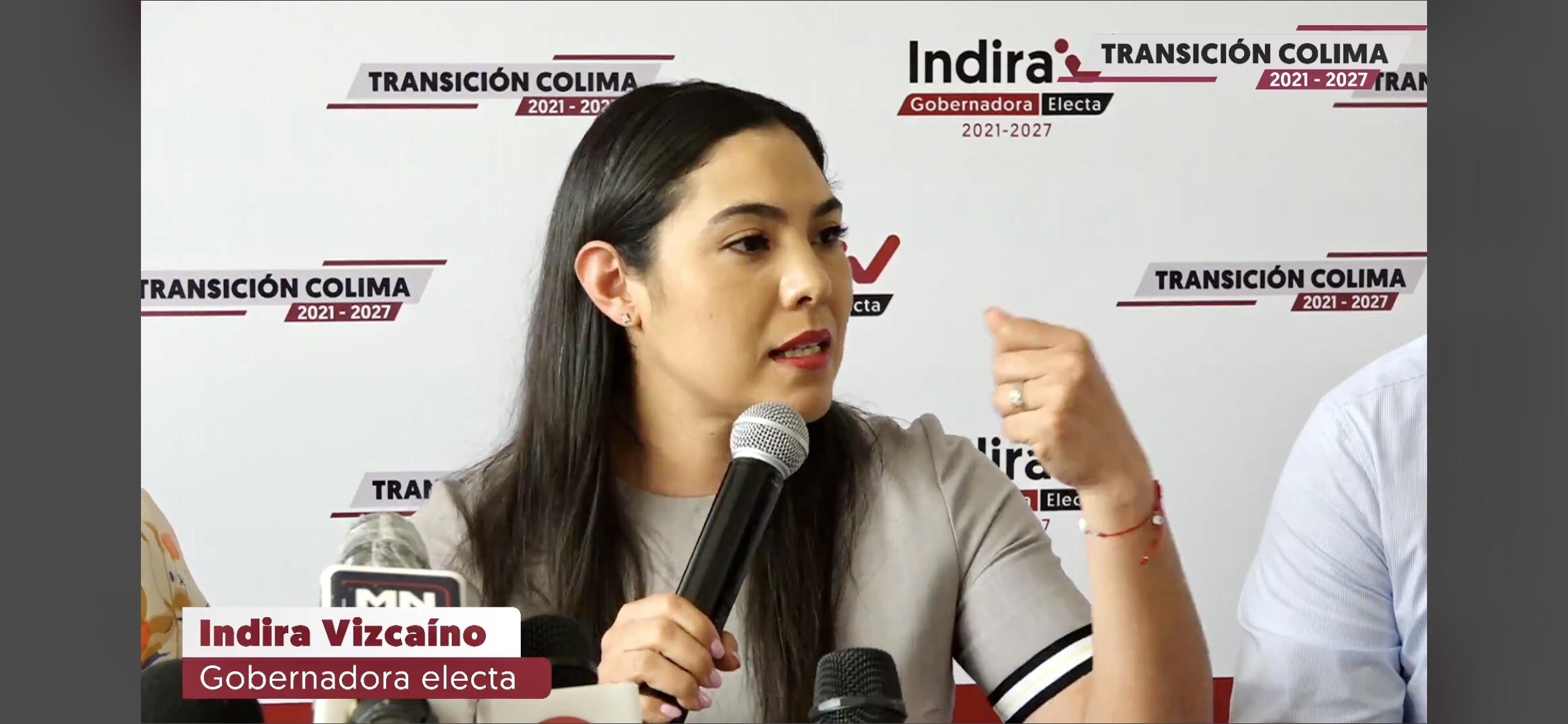 Con procesos amañados, Gobierno estatal busca enajenar bienes de los colimenses: Indira Vizcaíno.