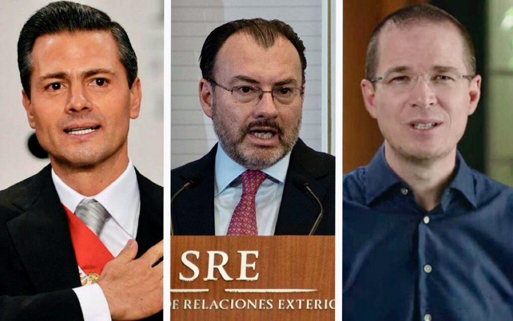 FGR acusará a Peña Nieto, Videgaray y a Anaya de delincuencia organizada: Milenio.